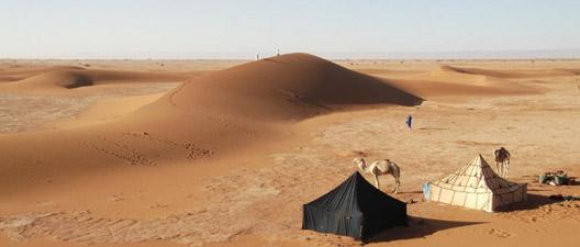 Trek - Campement à Zahar