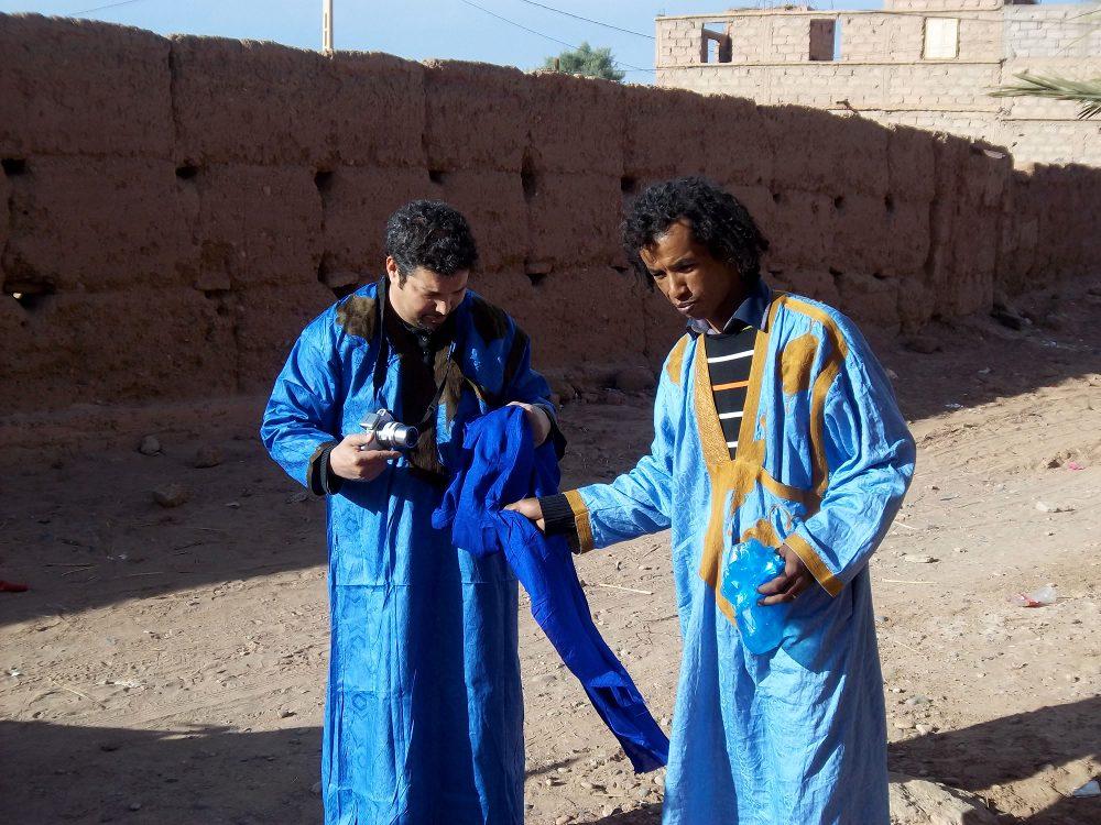 Novembre 2012 - Saïd (Aden's) & Tahar (Nomades sans Frontières)