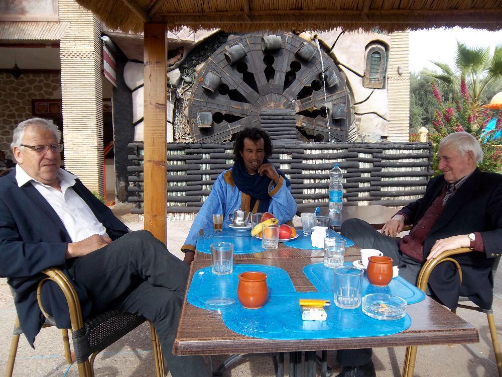 Novembre 2012 - Mr Mezy, Tahar El Ammari, Mr Toutain